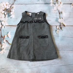 Calvin Klein infant sleeveless dress